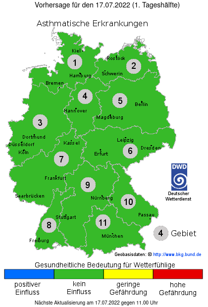 Biowetter Heute Hessen