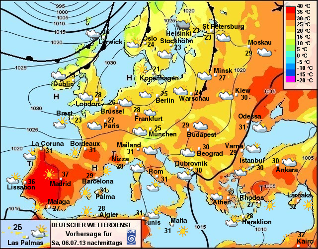 wette europa
