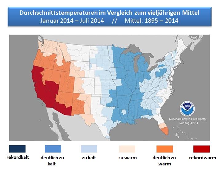 Usa Klima
