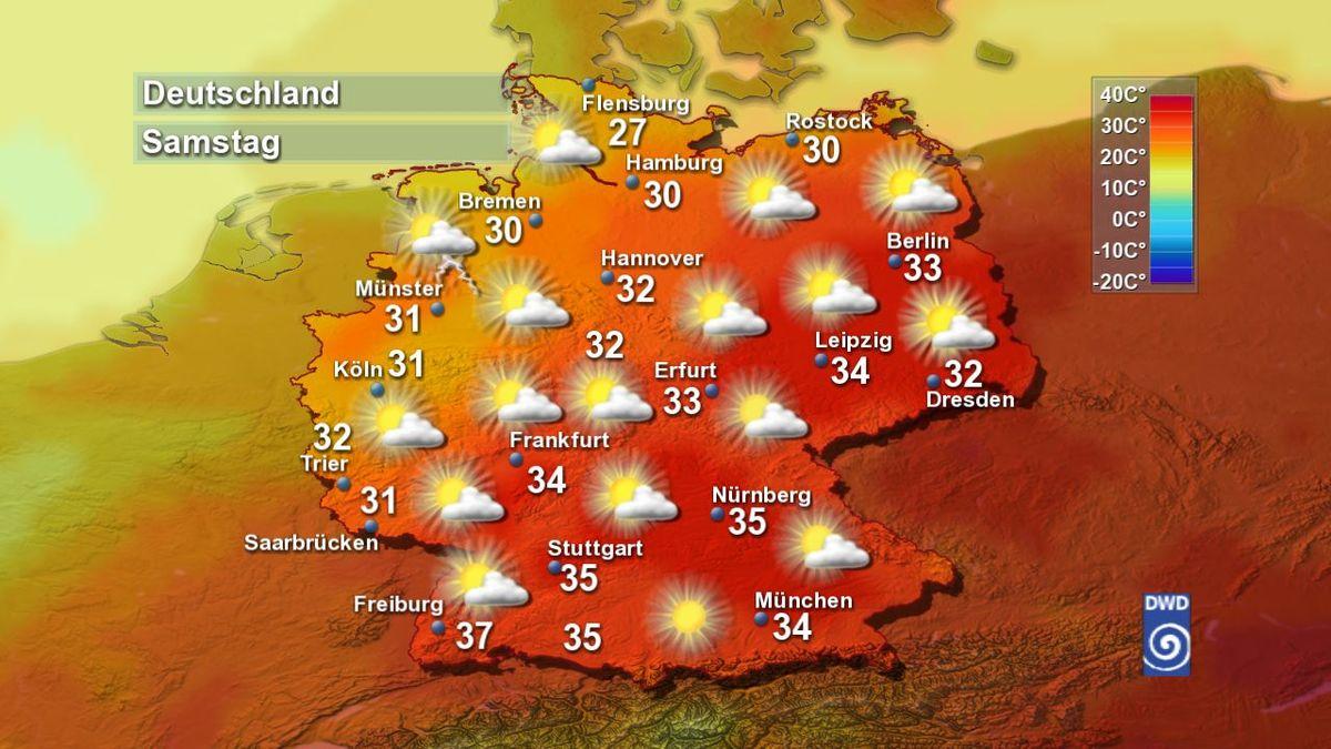 Wetter Deutschland Hitzewelle