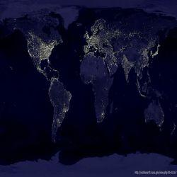 Lichtverschmutzung Karte Welt.Lichtverschmutzung Wetterdienst De