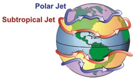 jetstream karte Polarfrontjetstream   ein Starkwindband in der Höhe gibt den Takt  jetstream karte